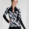 Abstract Print Define Jacket
