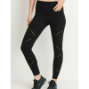 Highwaist Infinity Zig-Zag Mesh Full Leggings